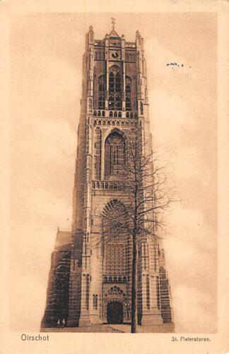 Ansichtkaart Oirschot St. Pieterstoren Kerk 1929 HC21570