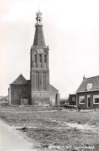 Ansichtkaart Medemblik Ned. Hervormde Kerk 1968 HC21575