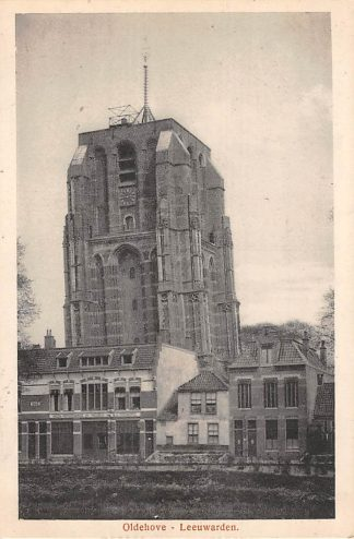 Ansichtkaart Leeuwarden Oldehove 1917 HC21581