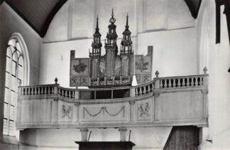 Ansichtkaart Oosthuizen en Hobrede Orgel Kerk Hervormde Gemeente 1968 HC21593