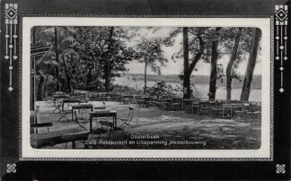 Ansichtkaart Oosterbeek bij Arnhem Café Restaurant en Uitspanning Westerbouwing 1916 HC21602