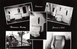 Ansichtkaart Janum Interieur Romaans Kerkje 1962 Kerk HC21614