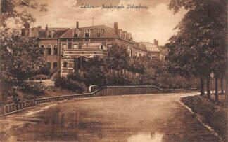 Ansichtkaart Leiden Academisch Ziekenhuis 1913. HC21617