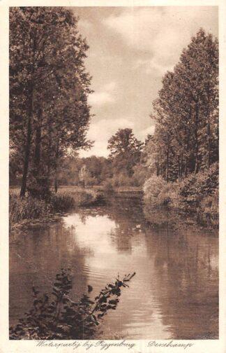 Ansichtkaart Denekamp Waterpartij bij Piggenbrug 1942 HC21627