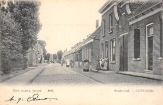 Ansichtkaart Klundert Hoogstraat 1904 Moerdijk HC21643