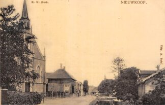 Ansichtkaart Nieuwkoop bij Bodegraven R.K. Kerk HC21659