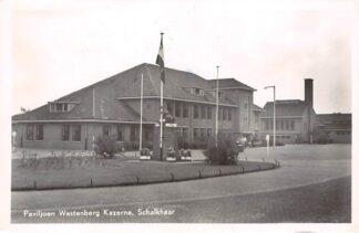 Ansichtkaart Schalkhaar Paviljoen Westenberg Kazerne 1952 Deventer Militair HC21684