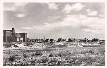 Ansichtkaart Terschelling Dellewal met Zeevaart school en Internaat 1949 HC21693