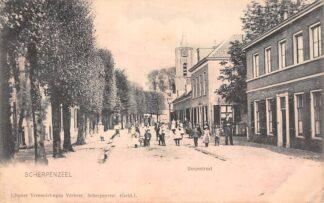 Ansichtkaart Scherpenzeel Dorpsstraat 1900 HC21694