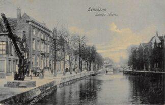 Ansichtkaart Schiedam Lange Haven 1906 HC21696