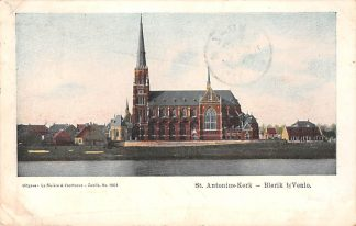 Ansichtkaart Blerick bij Venlo St. Antoniuskerk aan de Maas 1905 HC21707
