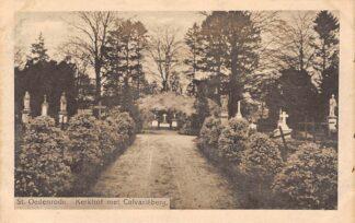 Ansichtkaart Sint-Oedenrode Kerkhof met Calvarieberg Begraafplaats HC21713
