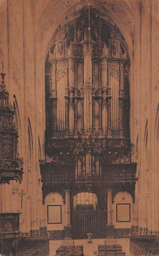 Ansichtkaart 's-Hertogenbosch Interieur van de Kathedraal St. Jan Het orgel HC21723