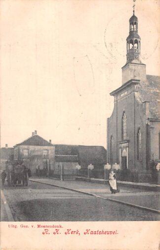 Ansichtkaart Kaatsheuvel R.K. Kerk 1907 HC21727