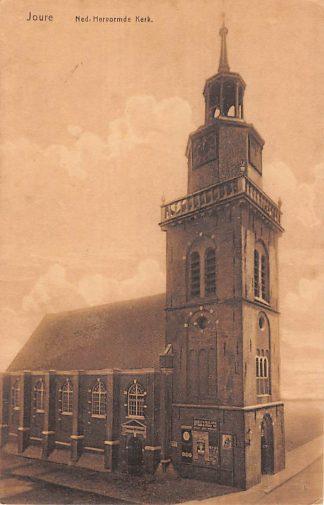 Ansichtkaart Joure Ned. Hervormde Kerk 1928 HC21728