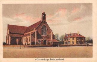 Ansichtkaart 's-Gravenhage Duinoord kerk HC21732