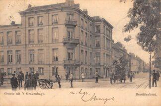 Ansichtkaart 's-Gravenhage Bezuidenhout 1903 HC21742