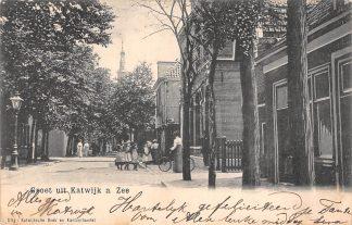 Ansichtkaart Katwijk aan Zee Groet uit 1905 HC21744