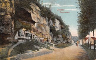 Ansichtkaart Geulhem Geulem Rotswoningen 1917 Valkenburg (LB) HC21749