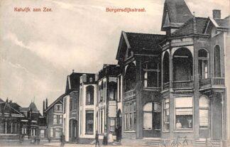 Ansichtkaart Katwijk aan Zee Burgersdijkstraat HC21755