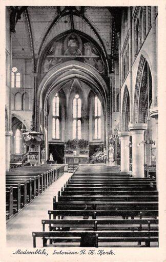Ansichtkaart Medemblik Interieur R.K. Kerk HC21794
