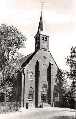 Ansichtkaart West-Graftdijk Ned. Hervormde Kerk HC21825
