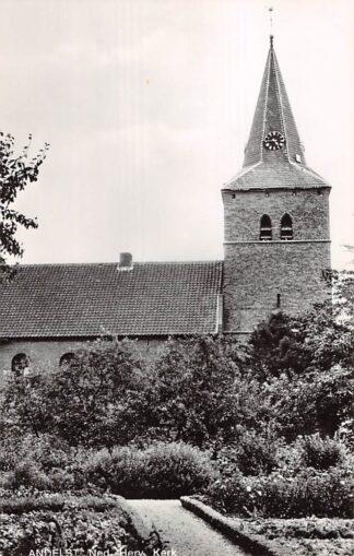 Ansichtkaart Andelst Ned. Hervormde Kerk 1969 HC21827