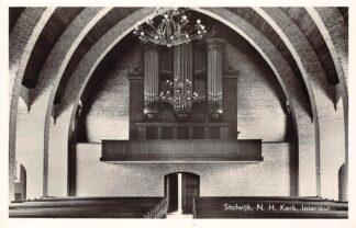 Ansichtkaart Stolwijk N.H. Kerk Interieur Orgel HC21829
