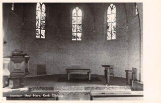 Ansichtkaart Stolwijk Interieur Ned. Hervormde Kerk 1954 HC21830