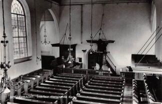 Ansichtkaart Bergambacht Interieur Hervormde Kerk 1969 HC21831