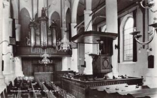 Ansichtkaart Nieuwpoort (ZH) Interieur N.H. Kerk Orgel 1969 HC21832