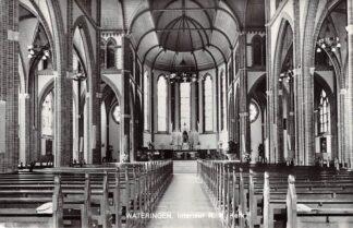 Ansichtkaart Wateringen Interieur R.K. Kerk 1977 HC21839