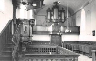 Ansichtkaart Finsterwolde Interieur Ned. Hervormde Kerk 19e eeuws Freitag Orgel 1964 Oldambt HC21843