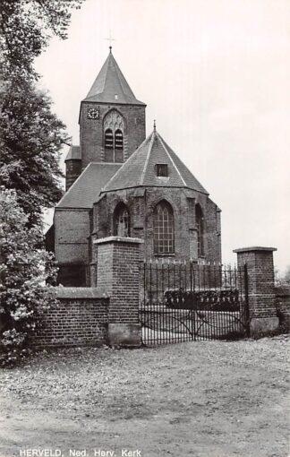 Ansichtkaart Herveld Ned. Hervormde Kerk 1969 Over Betuwe HC21855