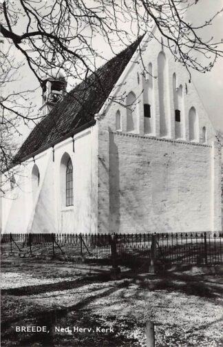 Ansichtkaart Breede Ned. Hervormde Kerk Warffum Het Hoge Land HC21856