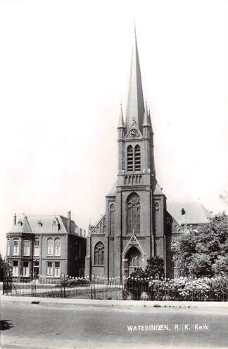Ansichtkaart Wateringen R.K. Kerk St. Jan de Doper 1977 HC21870