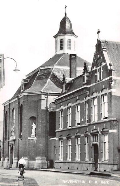 Ansichtkaart Ravenstein R.K. Kerk 1969 HC21871