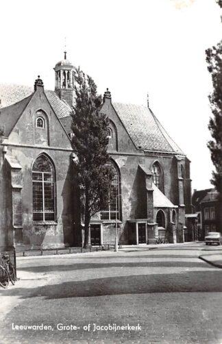 Ansichtkaart Leeuwarden Grote of Jacobijnen kerk HC21872