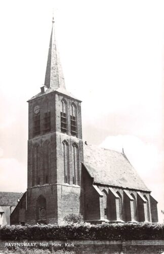 Ansichtkaart Ravenswaaij Ned. Hervormde Kerk Buren (GD) Betuwe HC21875