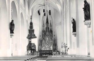 Ansichtkaart Schijndel Interieur St. Servatiusm kerk Orgel 1984 HC21880