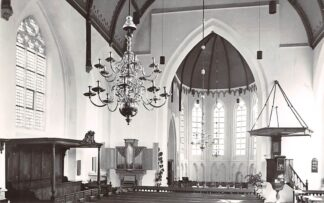 Ansichtkaart Kloetinge Ned. hervormde of Geertes kerk HC21882