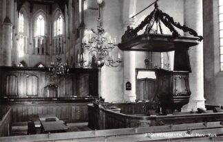 Ansichtkaart Brouwershaven Ned. Hervormde Kerk 1979 HC21884