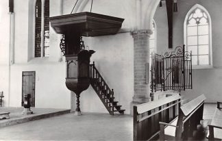Ansichtkaart Dreischor Ned. Hervormde kerk 1977 HC21885