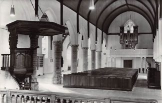 Ansichtkaart Dreischor Ned. Hervormde Kerk Orgel 1977 HC21886