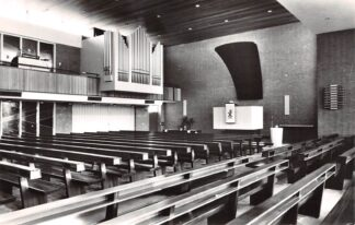Ansichtkaart Rotterdam Gereformeerde Groene Tuin kerk 1970 HC21896