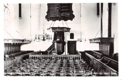 Ansichtkaart 's-Heer Arendskerke Interieur der Ned. Hervormde Kerk Goes 1981 HC21897