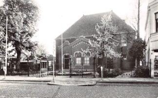 Ansichtkaart Zaandam Doopsgezinde Kerk Westzijde HC21902