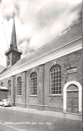 Ansichtkaart Nieuw Lekkerland Ned. Hervormde Kerk VW 1966 Alblasserwaard HC21906
