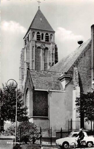 Ansichtkaart Bergambacht Ned. Hervormde Kerk Auto 1964 Krimpenerwaard HC21909