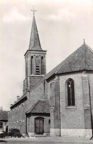 Ansichtkaart Stolwijk Ned. Hervormde Kerk 1968 Krimpenerwaard HC21910